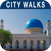 Almaty Walking Tours and Map